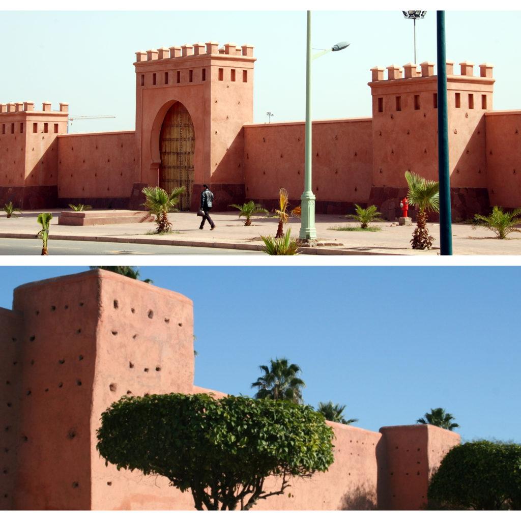 Muralla de la Kasbah de Marrakech