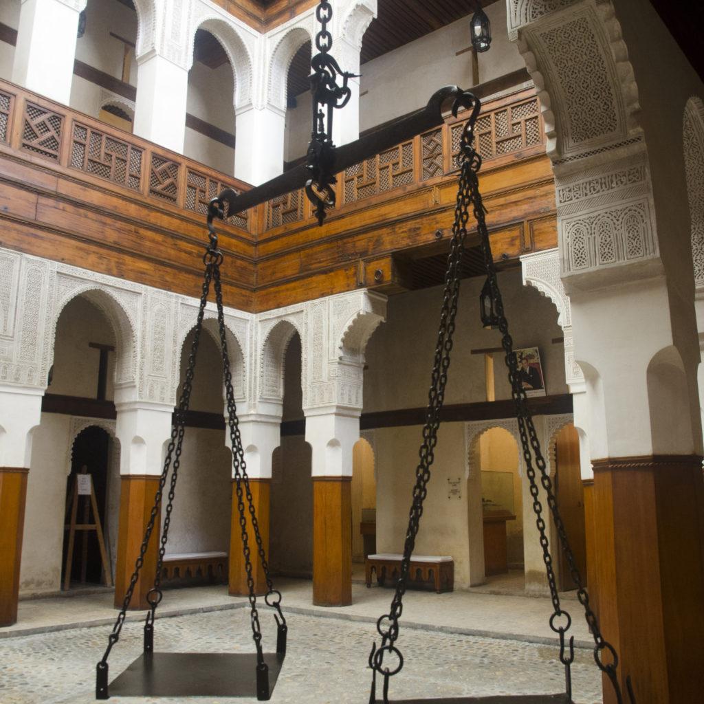 PATIO INTERIOR DEL MUSEO NEJJARINE DE ARTE Y ARTESANÍA DE LA MADERA