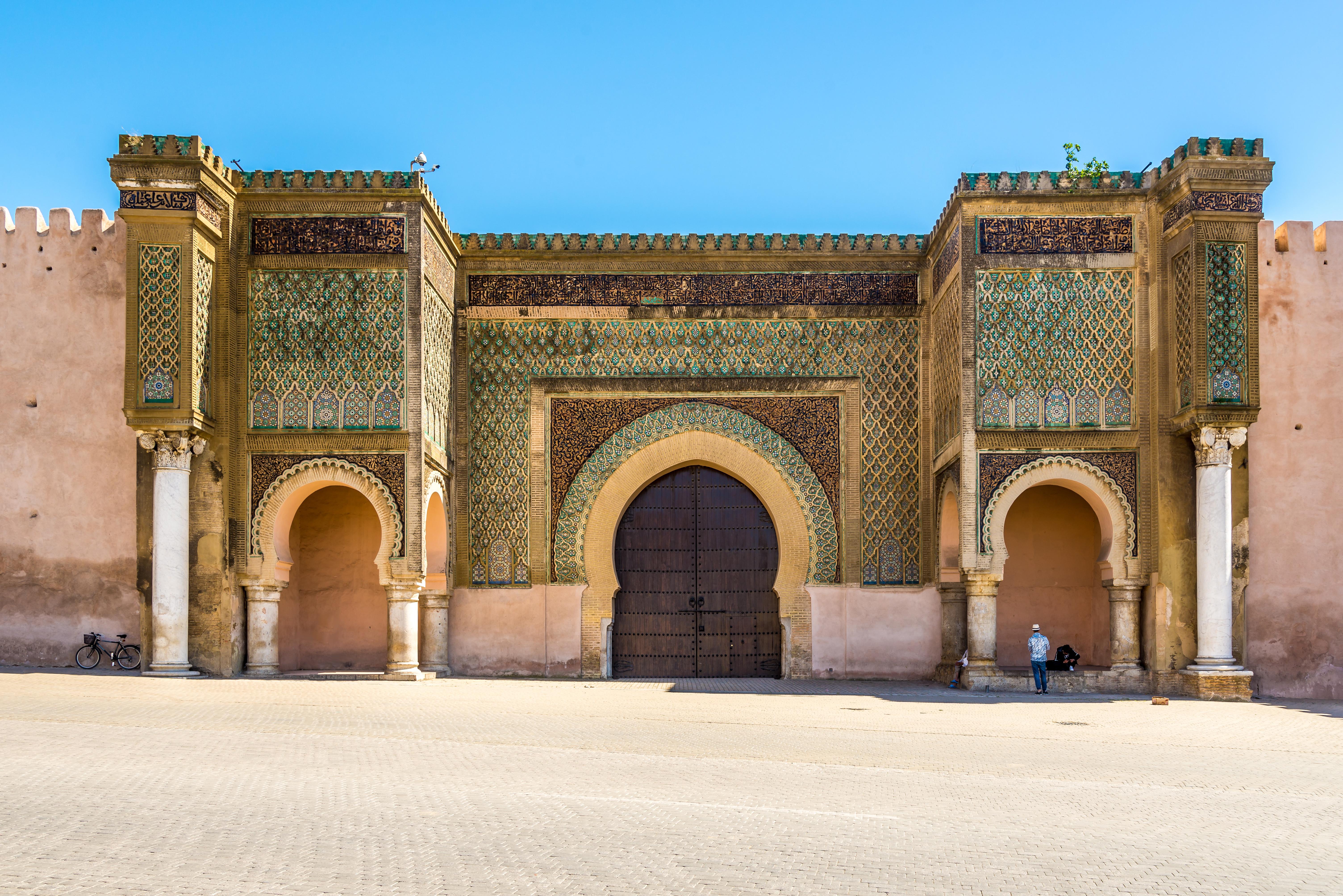 La puerta Bab El Mansour, en Meknes