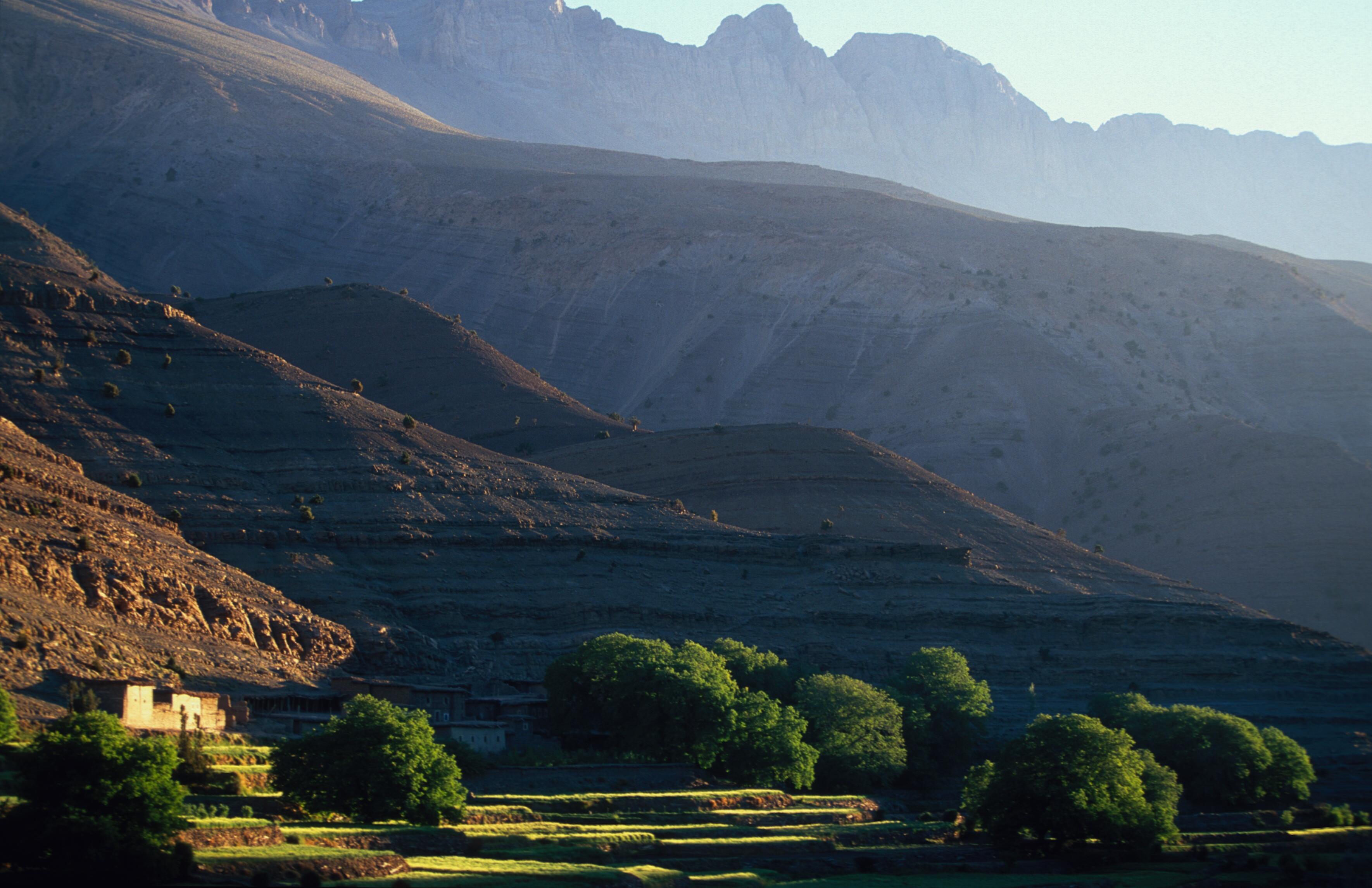 Valle de MGoun. Alto Atlas